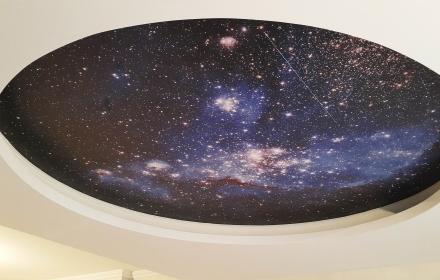 Звездное небо с фото УФ печатью