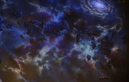 Ультрафиолетовая роспись и звездное небо