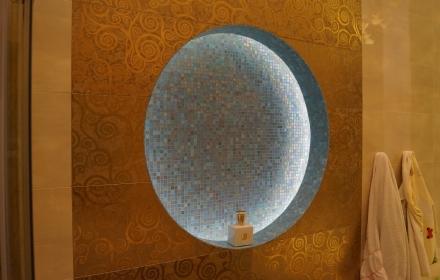Декоративное освещение ниша
