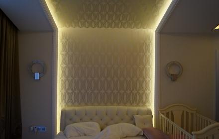 Светящаяся спальня