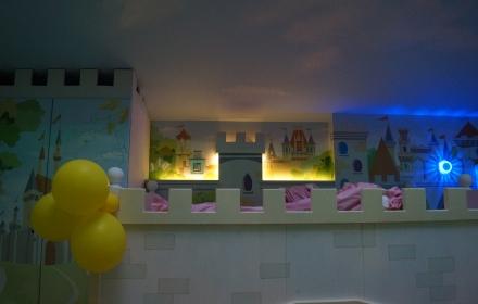 Светящаяся детская комната