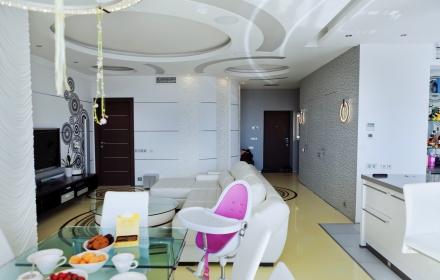 Декоративное освещение потолка в интерьере