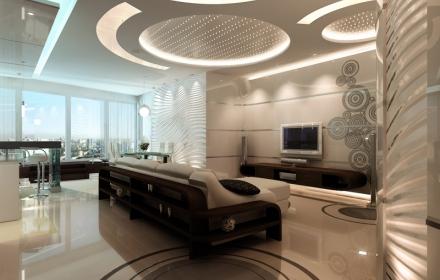 Декоративное освещение потолок