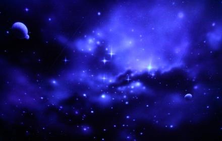 Потолок звездное небо с аэрографией
