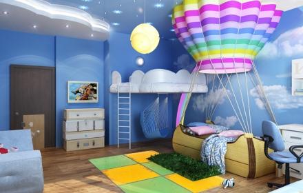 Дизайн детской освещение