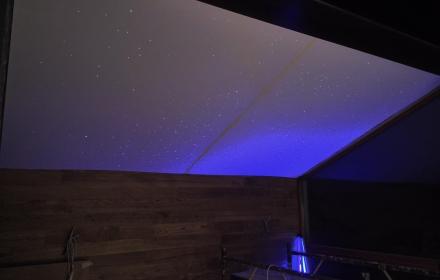 Потолок звездное небо без художественной росписи