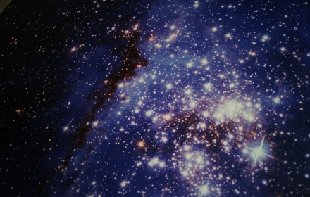 Фотопечать звездное небо для дилера