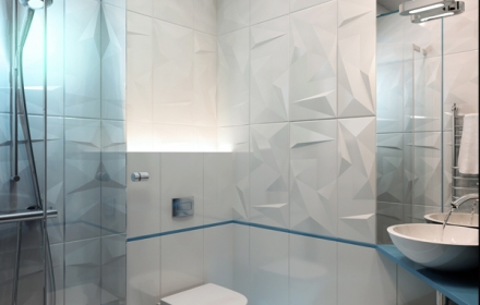 Декоративное освещение интерьера ванная комната фото